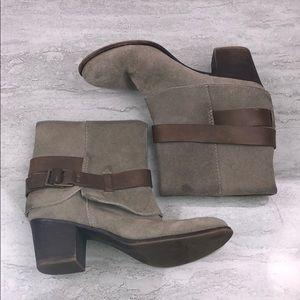 NINE WEST Dawne Ankle Boots Size 7.5